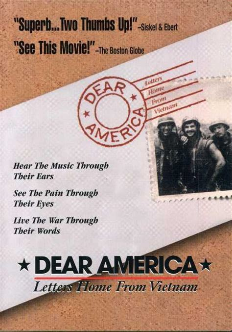 dear america letters home from tv 1987