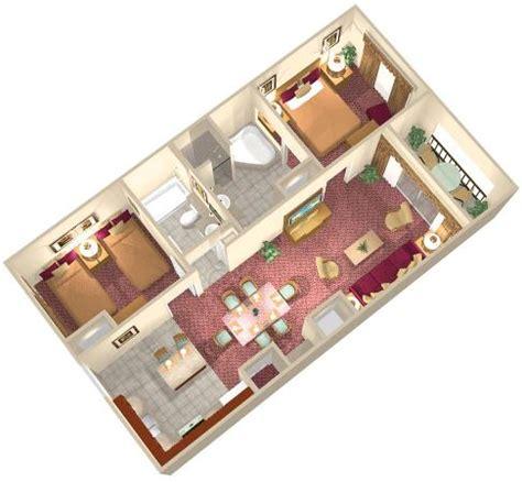 2 bedroom suite orlando 2 bedroom suite floor plan picture of floridays resort orlando tripadvisor