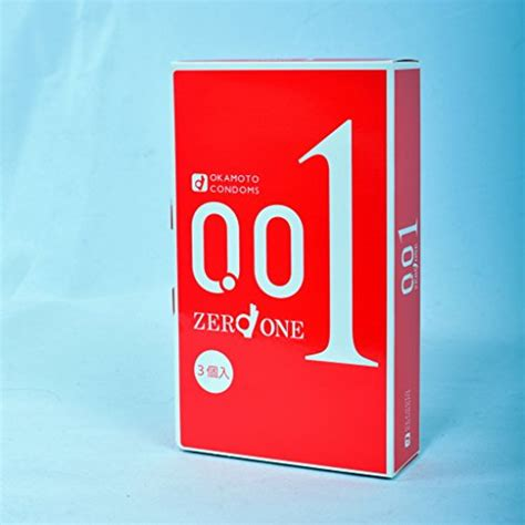 Okamoto Zero One 0 01 3 Pcs okamoto condoms 001 zero one 0 01mm 3pcs us seller buy