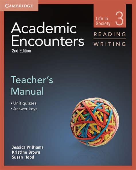 encounters of the second books academic encounters 2nd edition s manual reading