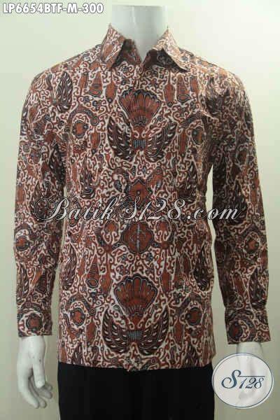 Hem Batik Lengan Panjang Motif Klasik Jogjaan Hem Batik Lengan Panjang Jogjakarta Busana Batik Halus