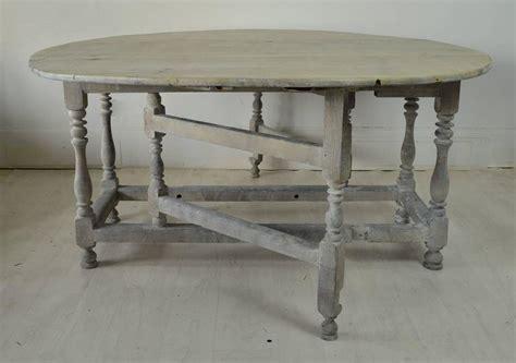 Limed Oak Dining Table Sale Large Antique Limed Oak Or Oval Dining Table 18th Century For Sale At 1stdibs