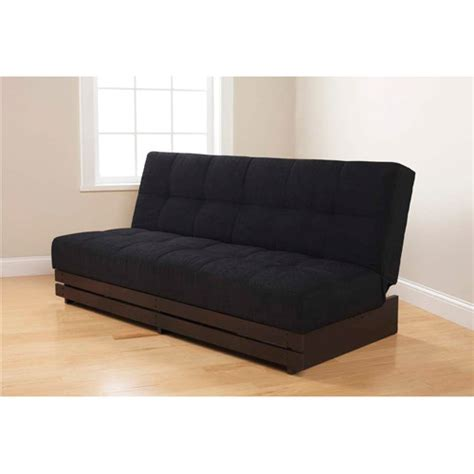 futon walmart find the mainstays convertible futon sofa bed in espresso