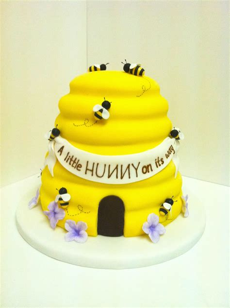 eat cake be merry bee hive cake