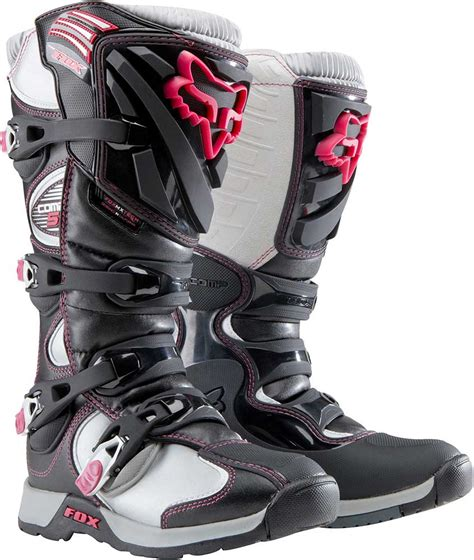 womens bike riding boots 2015 fox racing womens comp 5 boots motocross dirt bike