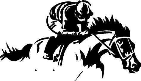printable horse stickers horse racing race horse jockey vinyl sticker decal
