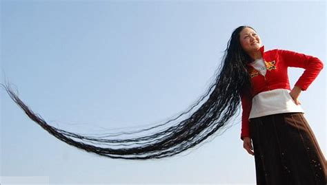 world s xie qiuping world s longest hair women beautyway2life