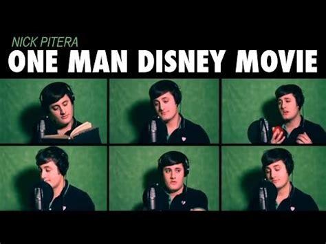 Meme Quartet - quot one man disney movie quot nick pitera disney medley youtube