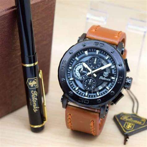 Jam Tangan Tetonis jual jam tangan tetonis original pria tali kulit harga murah