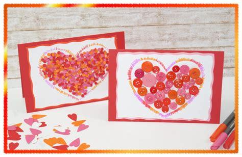 Muttertag Basteln Kindergarten herz karte zum muttertag valentinstag geburtstag