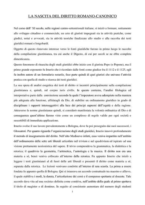 dispense diritto romano processo romano canonico montanari soccorsi pulimanti