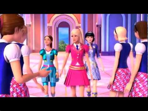barbie princess charm school full movie part 1 10 you can tell she s a princess barbie princess charm