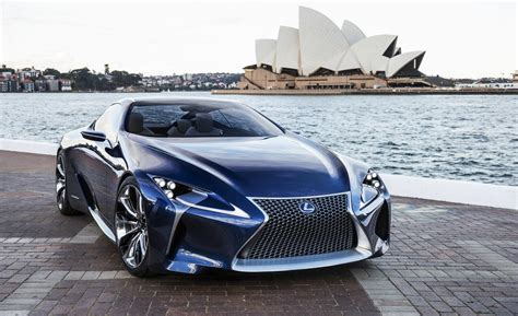 lexus lf lc blue car and driver