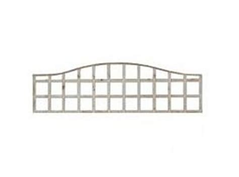 Fence Panels With Integrated Trellis Trellis Omega Open Fence Panel 6ft X 1ft 1 8mt X 0 3mt