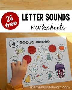 26 free beginning sounds worksheets the measured mom