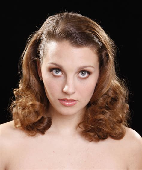 front views of prom hair styles medium curly formal hairstyle medium brunette caramel