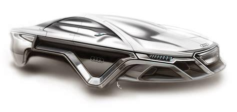 audi electromagnetic hover car concept design