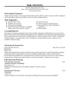 Family Services Specialist Sle Resume by Family Support Specialist Resume Exle Department For Community Based Services