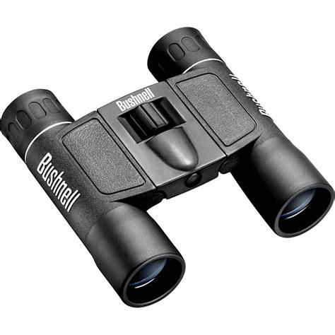 bushnell binoculars bushnell 10x25 powerview binocular black 132516 b h photo