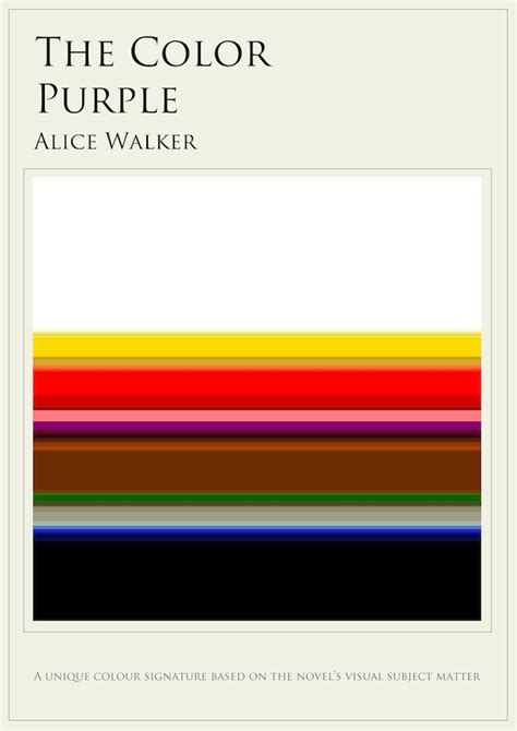 color purple book wiki infographics the colors mentioned most in 10 books