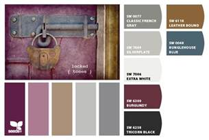 colors that match burgundy master bedroom color palette