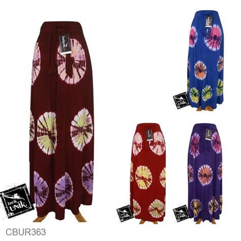 Kaos Rok rok batik kaos katun motif jumputan warna bawahan rok