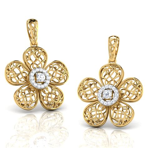 Nafisa Aqila S kalika trellis earrings jewellery india caratlane