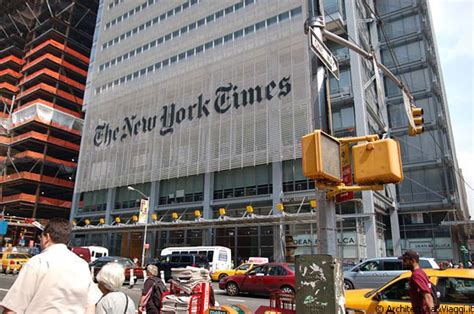 sede new york times midtown manhattan il nuovo grattacielo di renzo piano