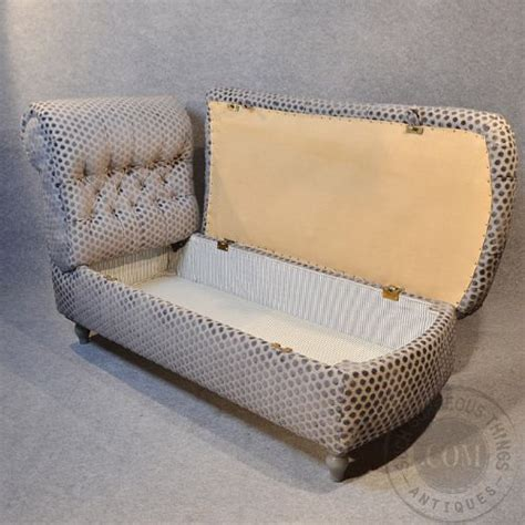 Antique Chaise Longue Sofa Couch Settee Victorian Day Bed Chaise Longue Sofa Bed Uk