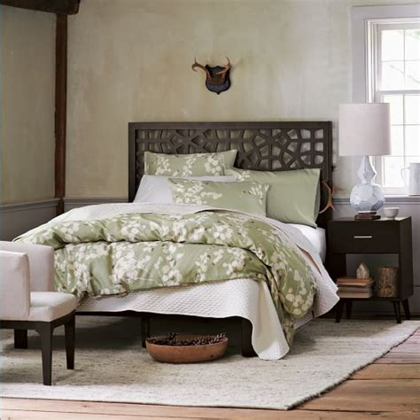 Moroccan Bed Frame Morocco Bed Chocolate West Elm