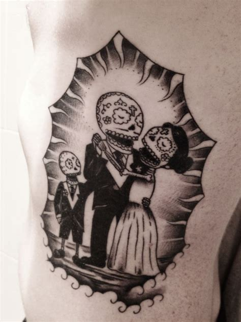 sugar skull couple tattoo this is what i am think of getting a sugar skull family in