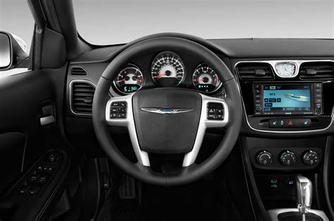 chrysler steering wheel 2012 chrysler 200 limited convertible editors notebook