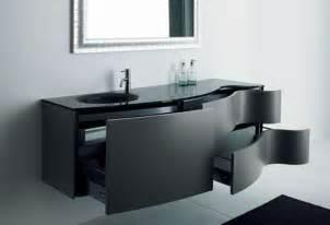 black bathroom sink cabinets laminated wooden