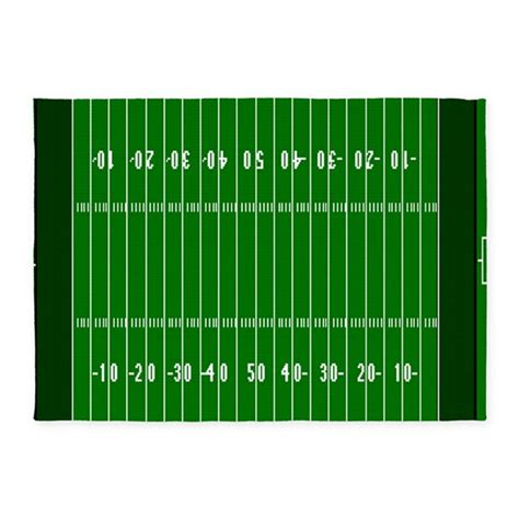 football field rug for 5 x7 football field area rug by forgottenmemory