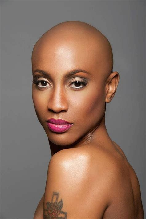 bald covering for black woman 17 best images about we bald women rock on pinterest