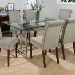 dining room tables glass top jofran bethel rectanglar glass top dining table