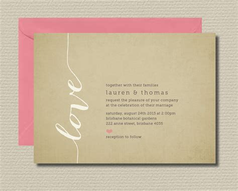 Wedding Invitation Rsvp by Printable Wedding Invitation Rsvp By Rosiedaydesign