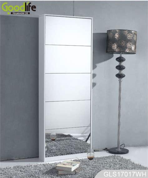 Cabinet Miror 30x50x15 Cm Elegan drewniana szafka na buty z pe蛯nej d蛯ugo蝗ci lustro