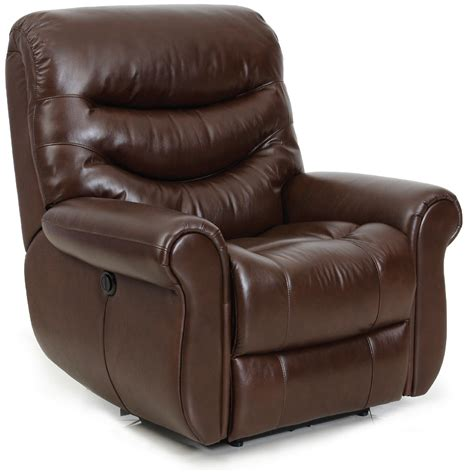 Leather Wall Hugger Recliner Chairs by Barcalounger Dandridge Ii Lay Flat Wall Away Hugger
