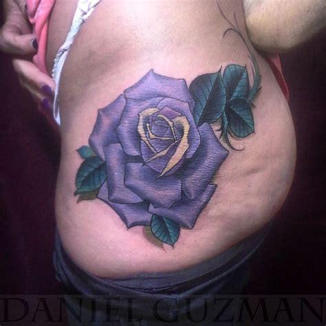 danielguzmantattoos neo traditional rose rose tattoo