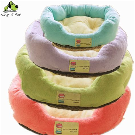cat macaron bed dog boom fruit color pet cat dog bed mat 4 colors kennel