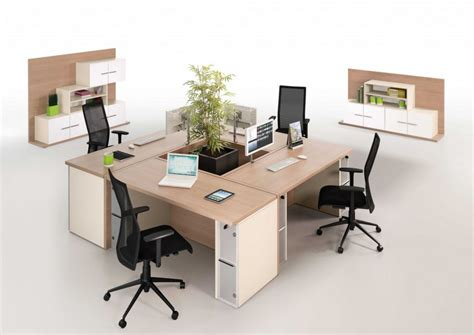 Versa Four Person Desk Compilation Office Reality 4 Person Desk