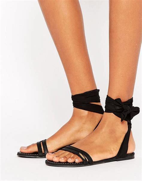 black tie up sandals abercrombie fitch abercrombie fitch black tie up