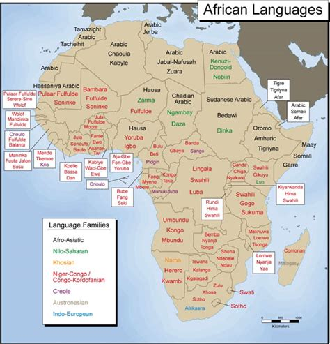 map of speaking countries in africa module five activity five exploring africa