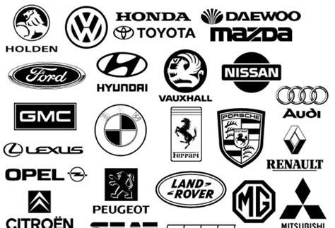 car logo black and white gallery logo automotive logos