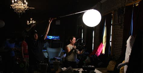 film set in china moving lights at night on an indie budget