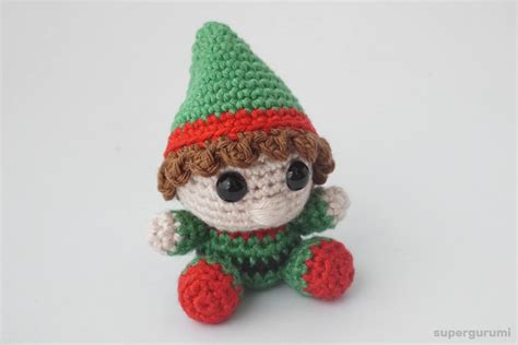 amigurumi elf pattern amigurumi crochet christmas elf pattern supergurumi