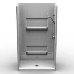 4 piece bathroom definition remodeler shower four piece 48x34 6 quot curb real tile