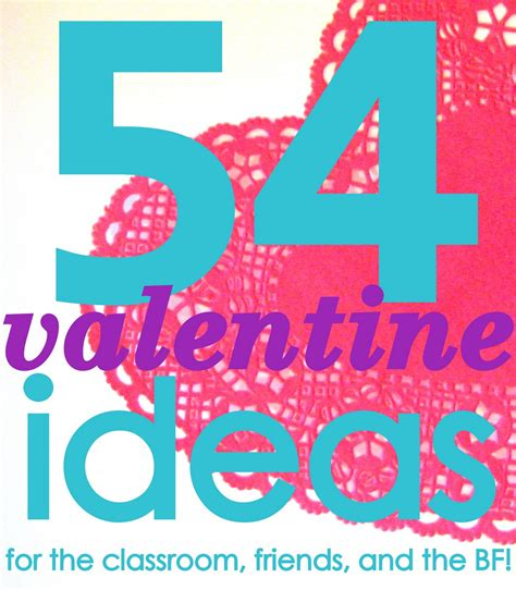 really valentines day ideas 54 diy ideas and printables c r a f t