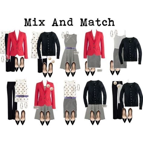 Mix And Match Wardrobe mix and match travel wardrobe visit shanw7 polyvore packing light